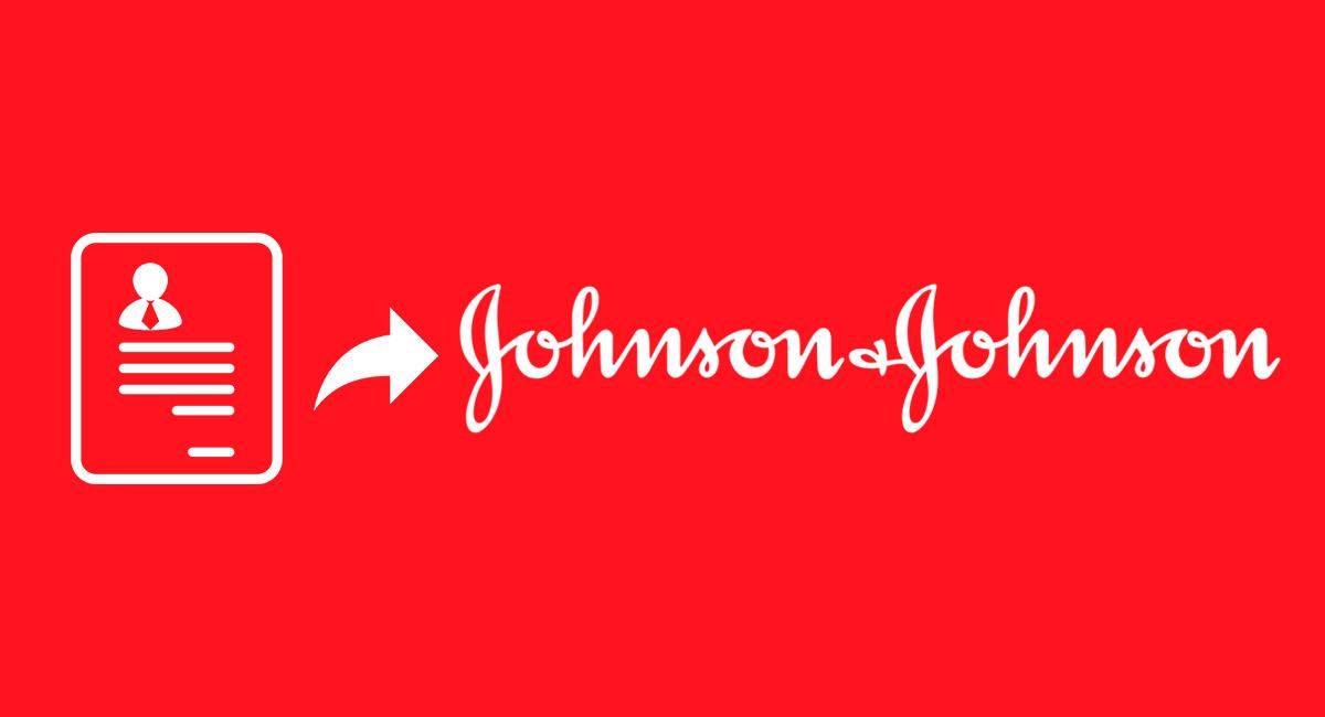 enviar hoja de vida a johnson y johnson