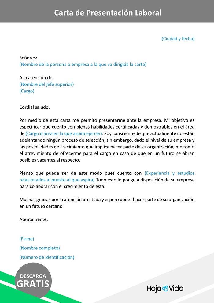 carta-de-presentacion-laboral-modelo