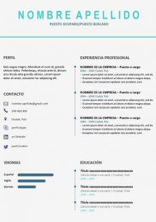 plantillas hoja de vida pdf