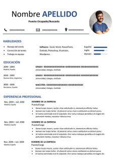 Ejemplo De Hoja De Vida Para Colombia Curriculum Word